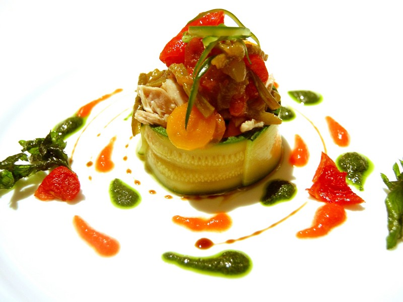 Vegetable dish osteria